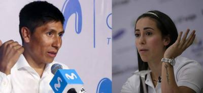 """Mariana Pajón criticó a Nairo y le dijo que """"hablar sin argumentos no es justo"""""""