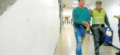 La Fiscalía le imputó el delito de hurto calificado y agravado al joven de 21 años.