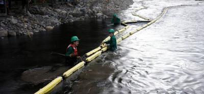 Emergencia ecológica en Norte de Santander por ataque del Eln a un oleoducto