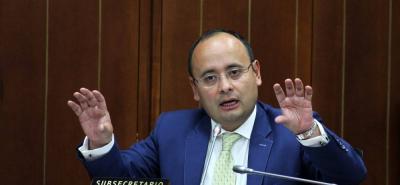 """""""Entre los requisitos está ser desempleado, que no tenga ninguna fuente de ingresos"""", inidicó el viceministro Francisco Javier Mejía."""