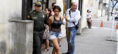 María Fernande Olave, de 18 años, fue enviada a prisión. Deberá responder por el delito de hurto.