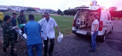 Angustioso rescate a lomo de mula por 6 horas de un hombre herido en Santander
