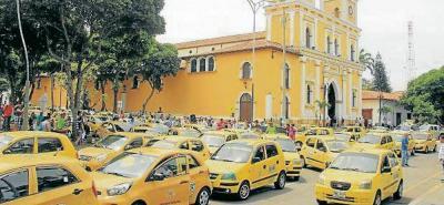 ¿Taxistas de Bucaramanga pueden bloquear vías?