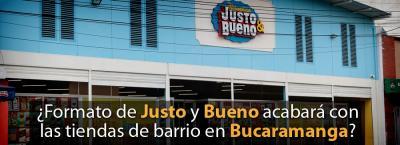 ¿Formato de venta de 'Justo y Bueno' acabará con las tiendas de barrio de Bucaramanga?