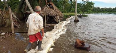 Se recomienda a la población mantenerse alerta, debido al ascenso en el nivel de las aguas.