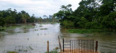 La apertura de compuertas en Hidrosogamoso habría dejado cerca 1.500 hectáreas afectadas.