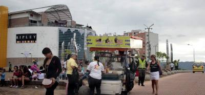 En el trimestre enero - marzo de 2017, 307.000 personas en la ciudad aseguraron realizar trabajos informales.