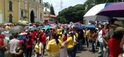 Estas son las marchas y protestas que se realizan en Bucaramanga y Santander
