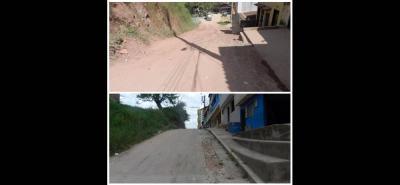 En la carrera 2 entre calles 12 y 9 el mal estado de la vía no solo provoca problemas de movilidad, sino también de salud, pues la tierra está enfermando a varias personas de la comunidad.