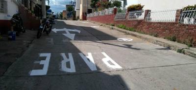 El reforzamiento de la señalización en las vías de San Luis apunta a solucionar los inconvenientes en la movilidad del sector, especialmente los fines de semana.