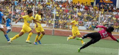Bucaramanga femenino derrotó 2-0 a Orsomarso en la ida de los Cuartos de final