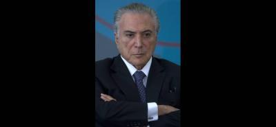 El presidente de Brasil Michel Temer, ha negado cualquier tipo de acto ilícito y ha reiterado que no dejará el cargo.