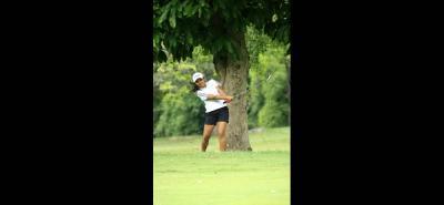 Gabriela Maldonado Villa fue una de las cuatro jugadoras del registro del Club Campestre de Bucaramanga en lograr su cupo para el Nacional Infantil de Golf.