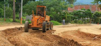 El Banco de Maquinaria es la entidad encargada del arreglo de las vías y la demolición de estructuras en mal estado, en los diferentes barrios de la localidad.