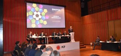 Ayer se efectuó en Bogotá la Asamblea Extraordinaria de la Dimayor, en la que aseguró que se efectuarán cambios en los estatudos de la entidad, rectora del fútbol profesional colombiano.
