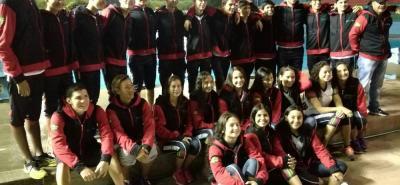 Esta es la selección Santander de natación que tomará parte del Campeonato Nacional Interligas de Cúcuta, que será clasificatorio para varios eventos internacionales.
