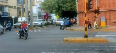 Eliminarán definitivamente el cruce a  la izquierda en la calle 56 con 33 de Bucaramanga