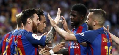 El Barcelona conquistó la Copa del Rey al derrotar en la final al Alavés 3-1