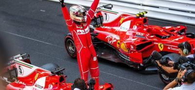 El piloto alemán Sebastian Vettel ganó ayer el Gran Premio de Mónaco y se afianzó en el liderato del Mundial de Pilotos de la Fórmula Uno.