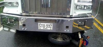 Identificada pareja del fatal accidente  en la vía Rionegro