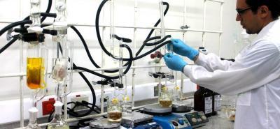 Análisis de la capacidad antioxidante de los aceites esenciales en el Laboratorio Marie Curie del Cenivam en la UIS.