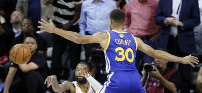 Warriors de Golden State está a una victoria del título de la NBA