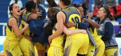 La selección Colombia femenina de baloncesto se clasificó ayer al Mundial de Rusia, tras vencer a México 45-41.