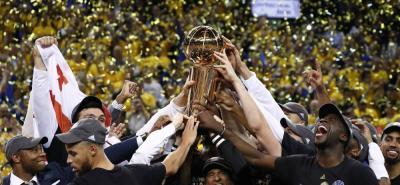 Warriors de Golden State es el nuevo campeón de la NBA
