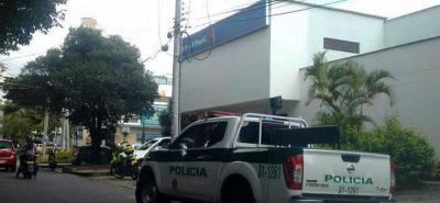Hombres armados asaltaron un banco en Bucaramanga