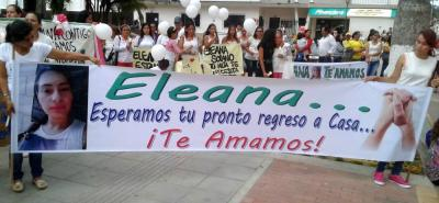 Los familiares no encuentran ningún motivo para su desaparición. La semana pasada se realizó una marcha por las principales vías del municipio.