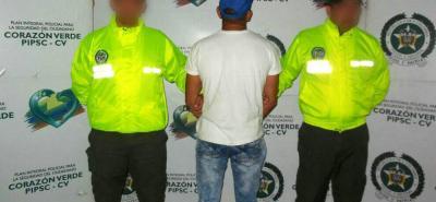 Como José Ochoa fue identificada la persona capturada por la Policía en las últimas horas, sindicada entre otros delitos, de homicidio.