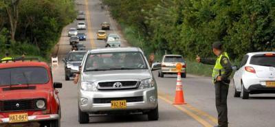 Los vehículos de carga tienen prohibido el tránsito hasta la 1 a. m. del martes.