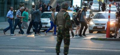 Reportan atentado en estación de trenes de Bruselas