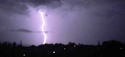 Así registran ciudadanos tormenta en Bucaramanga y el área metropolitana