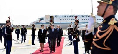 Además de reunirse con Macron, Santos se entrevistará con el primer ministro francés.