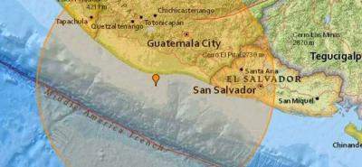 El sismo tuvo lugar hacia las 7:40 de la mañana de este jueves 22 de junio.