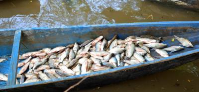 La Essa se comprometió a trabajar con los pescadores de la cuenca del río de Lebrija.