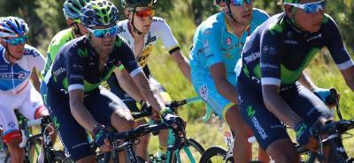 El español Alejandro Valverde sabe que su misión es ayudar a Nairo Quintana en el Tour de Francia, pero no se descarta que esté en la pelea de la general de la carrera.