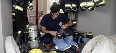 Incendio dejó cuantiosas pérdidas materiales en Bucaramanga