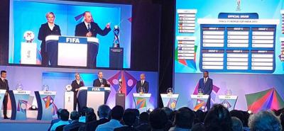 Conozca los rivales de Colombia en el Mundial Sub 17 de India