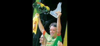 Rigoberto Urán sumó su primera victoria de etapa del año y lo hizo en el Tour de Francia, prueba en la que el único antioqueño en haber ganado había sido Santiago Botero.