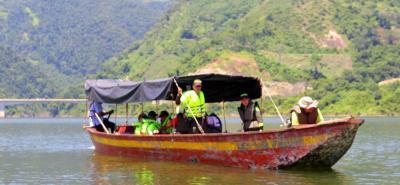 Verificaron estado de lanchas que operan en embalse de Topocoro en Santander