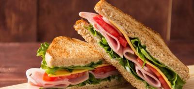 Sándwich jamón de cerdo