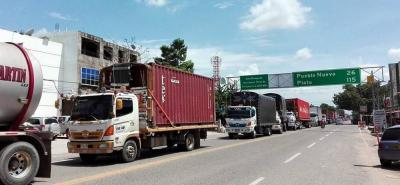 Protestas en la Troncal del Caribe por deuda a contratistas de la Ruta del Sol