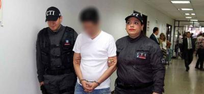 El pasado 8 de marzo fue capturado 'El Padrino' en el barrio Lagos ll, de Floridablanca.