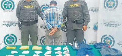 El sujeto es considerado el 'terror' entre los comerciantes que exigen a las autoridades ponerle freno a este ladrón. Nuevamente fue capturado por la Policía.