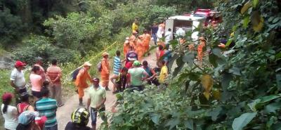 Hallaron cadáver que sería el de niña arrastrada por una quebrada en Bucaramanga