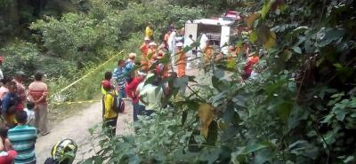 Hallan cadáver de la niña que fue arrastrada por una quebrada en Bucaramanga