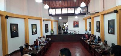 La plenaria del Concejo de Girón eligió este sábado a Ana Victoria Gómez como nueva contralora de ese municipio.