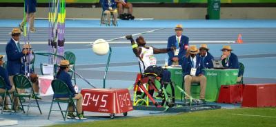 El deportista Mauricio Valencia fue el encargado de cerrar la participación de Colombia en el Mundial de Para Atletismo Londres 2017 y lo hizo con oro en lanzamiento de jabalina.